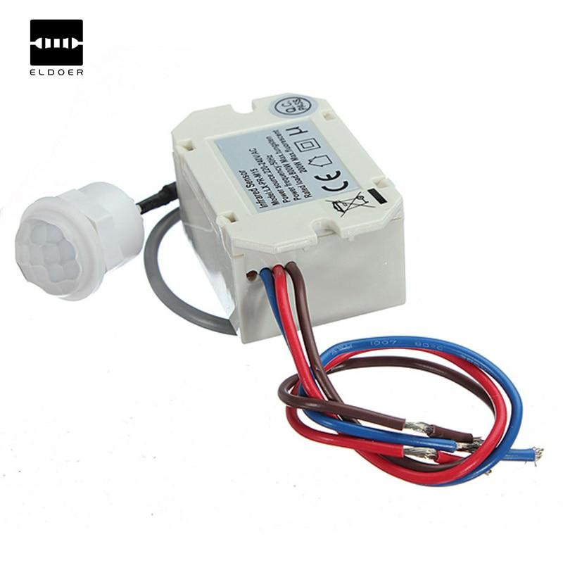 1 PC Mini PIR Motion Sensor Detektor für 12 V DC Timer Relais Automobil Caravan Alarm Sensor