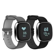 P2 Smart Wristband Fitness Tracker Band Blood Pressure Watch Bluetooth Health Bracelet Connecte Bangle Waterproof PK miband 2