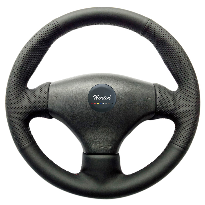 DIY Steering Wheel Cover for Peugeot 206 Extremely Soft Leather braid on the steering wheel of Car Interior Accessories diy steering wheel cover for peugeot 508 extremely soft leather braid on the steering wheel of car interior accessories