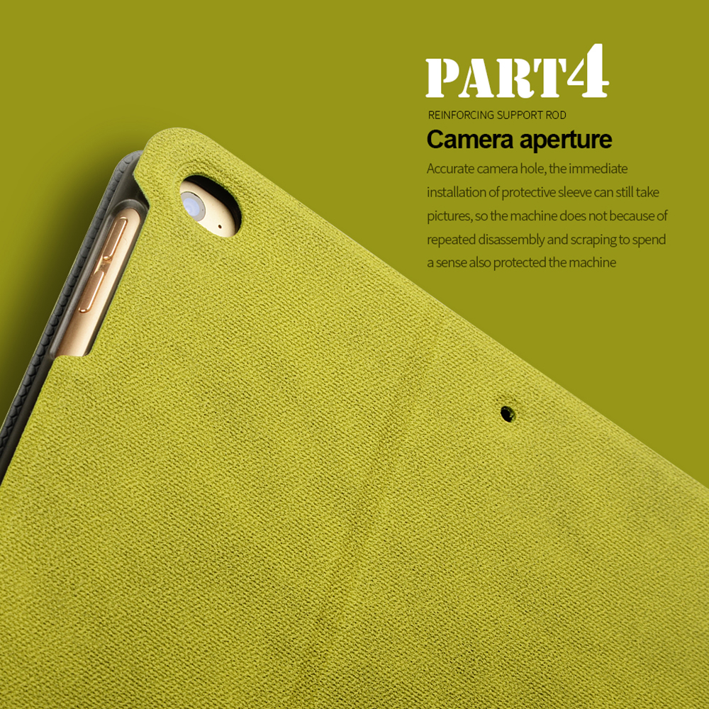 FLOVEME Apple iPad Mini 1 2 3 4 korpuse automaatse puhkerežiimi / - Tahvelarvutite tarvikud - Foto 5
