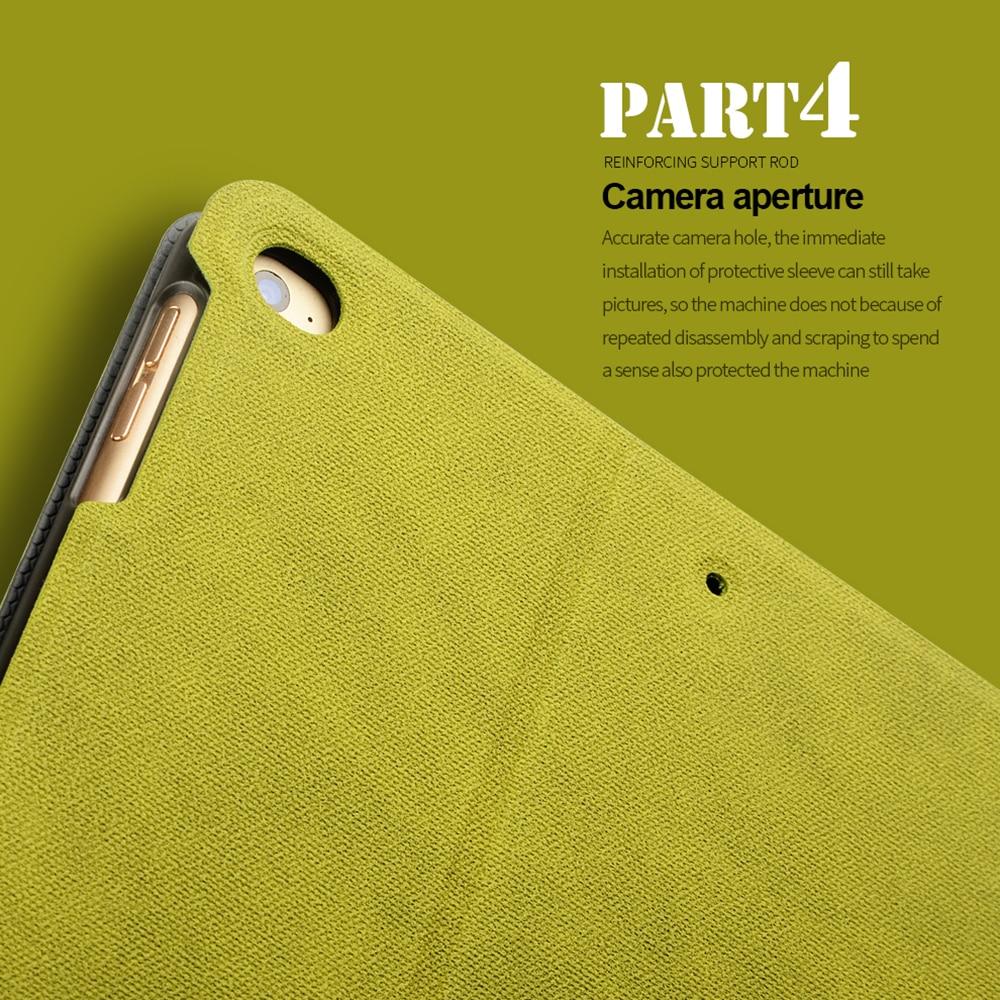FLOVEME för Apple iPad Mini 1 2 3 4 Fodral Auto Sova / Wake Up Flip - Surfplatta tillbehör - Foto 5