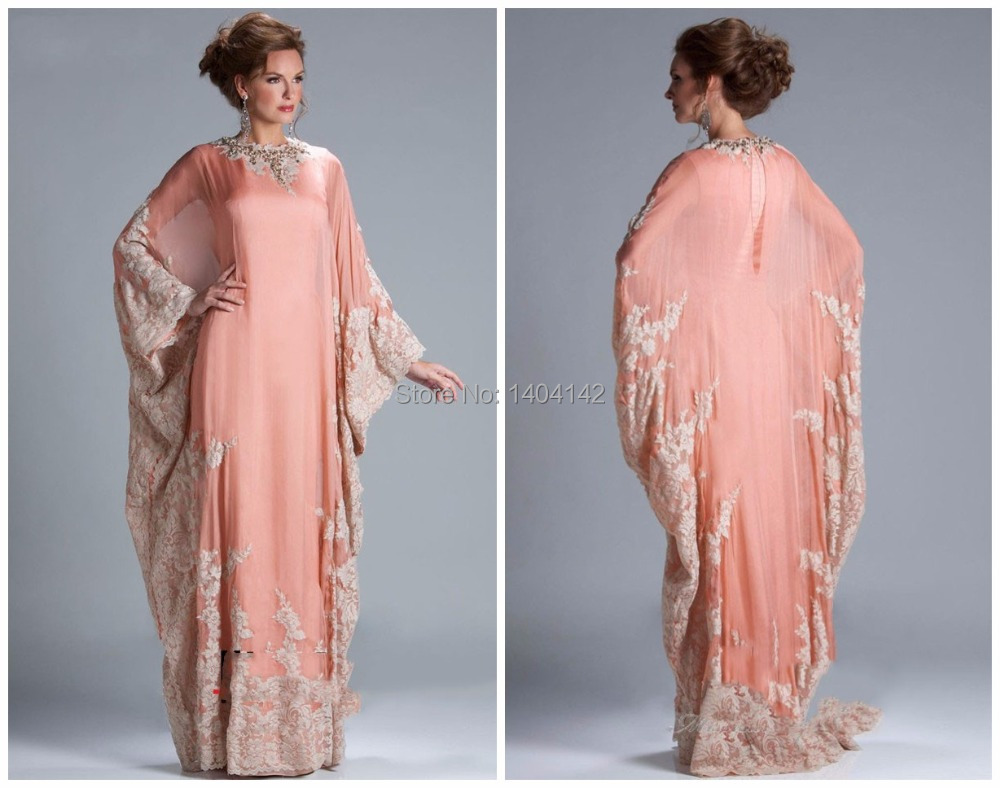 Aliexpress.com : Buy New Arrival Pink Chiffon Long Sleeve Party ...