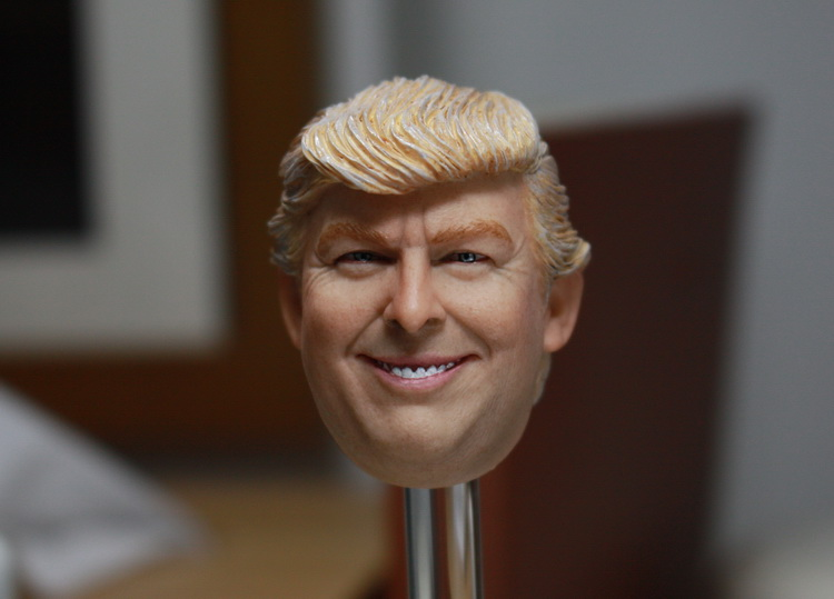 1/6 scale figure Accessory POTUS headsculpt Donald Trump head shape for 12