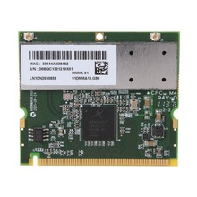 Atheros AR9223 Mini PCI Notebook Wireless WIFI WLAN Network Card Standard Size for Acer Toshiba Dell 300M 802.11 a/b/g/n