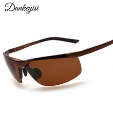 DANKEYISI New Polaroid Men Sunglasses Men Driving Polarized SunGlasses for Men Brand Men Sunglasses Fashion Sun Glasses