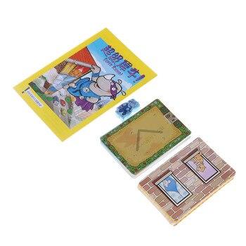 Juego de mesa 2-5 juegos de cartas divertidos juegos de papel de alta calidad para fiesta/juego de interior familiar juguete para niños