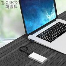 ORICO Тип-C Мини msata корпус Алюминий 5 Гбит HDD чехол для всеобщая Desktop Совместимость с Окна/ Linux/Mac винт крепления