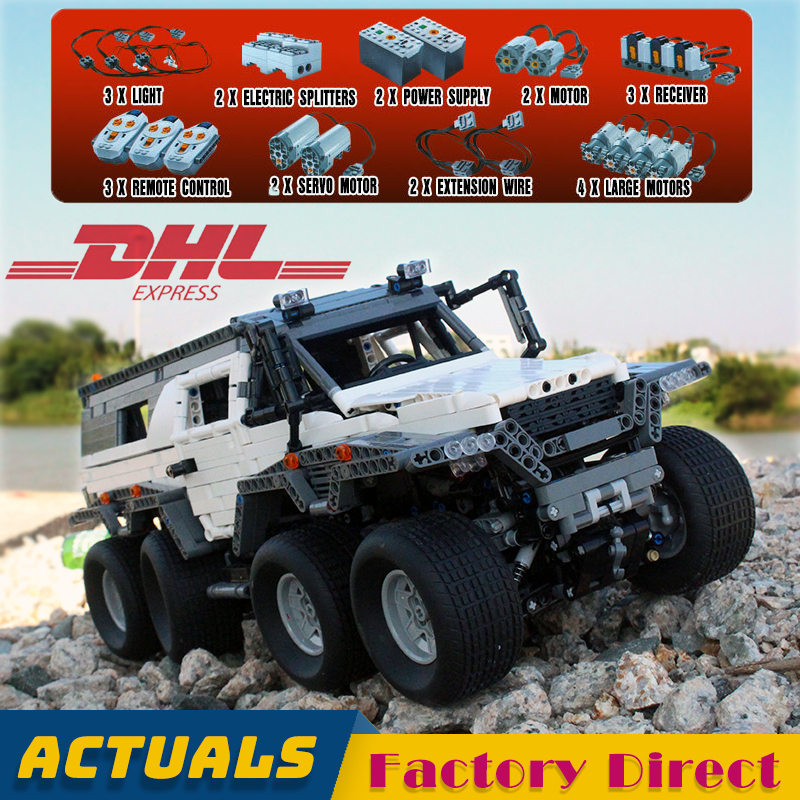 Remote Control Off road Vehicle 23011 23011B Technic Building Block Electric Motor Car Bricks Toys Gift