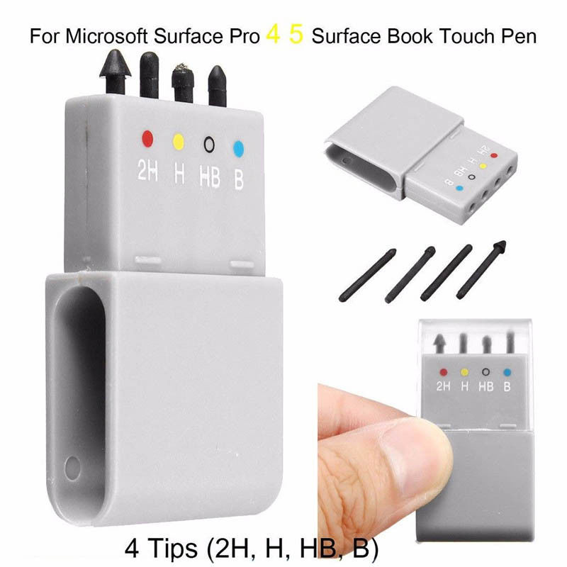 4 Tips Replacement Touch Stylus Pen Nib Tip Kit For Microsoft Surface Pro 4/5 Stylus Touchscreen Pen