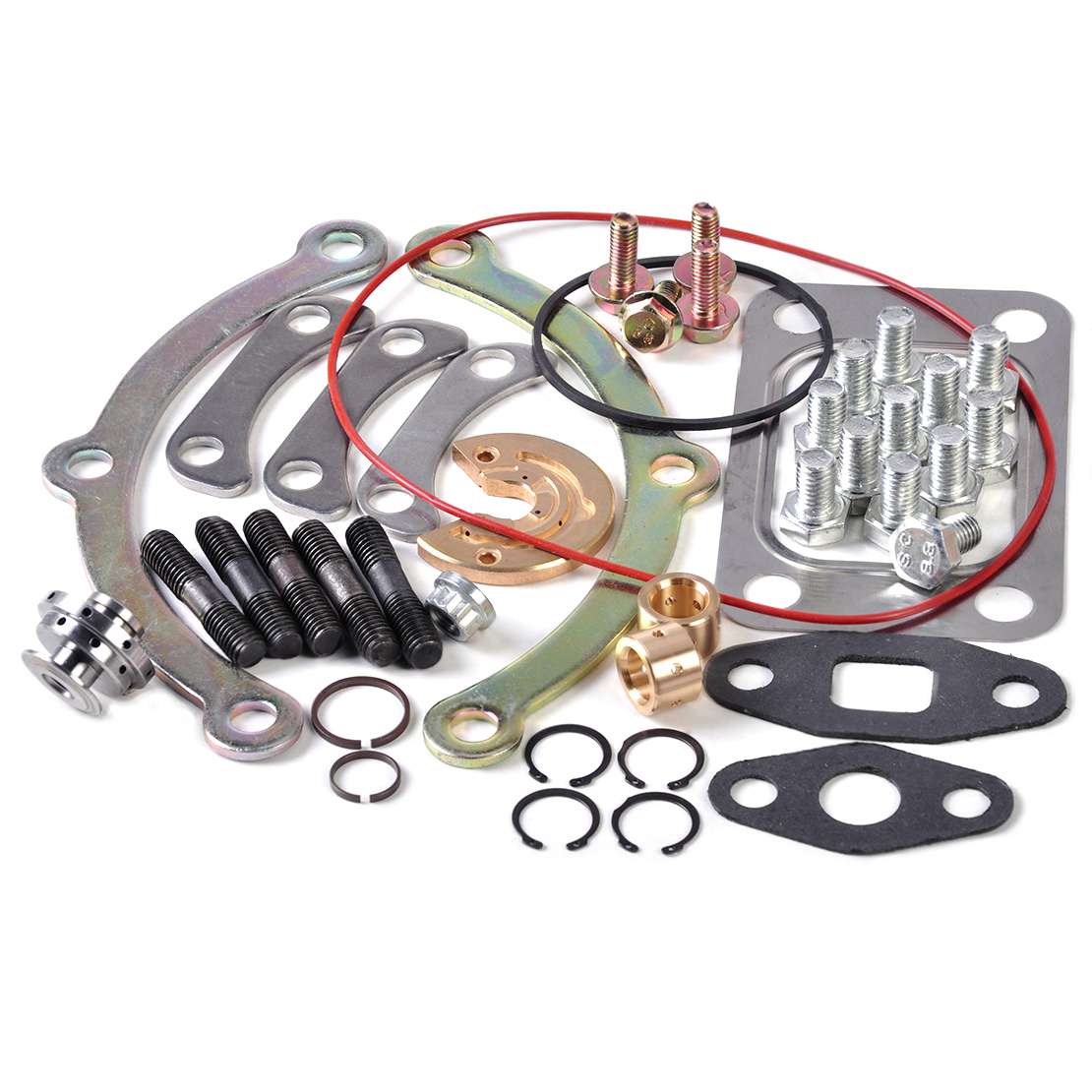 DWCX 42 Pcs/Lot Kit de Service de réparation de Turbo turbocompresseur reconstruit adapté pour T3 T4 T04B T04E Turbo chargeur