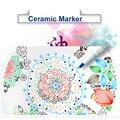 Набор керамических маркеров Simbalion стеклянная деревянная керамическая краска маркеры войлочный наконечник 1 0 мм металлическая ручка принад...
