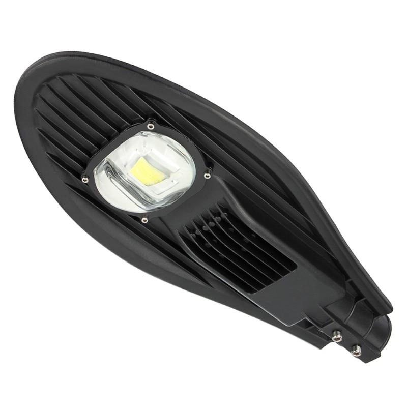 1PC 30W 50W Led Street Light Waterproof IP65 Led Streetlight Road Garden Lamp Warm/Cold White AC85-265V Outdoor Lighting