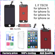 For iPhone 5C 5SE 5 6 LCD Touch Screen Assembly New Display Top Quality 100% Tested No Dead Pixel Screen+ Tools