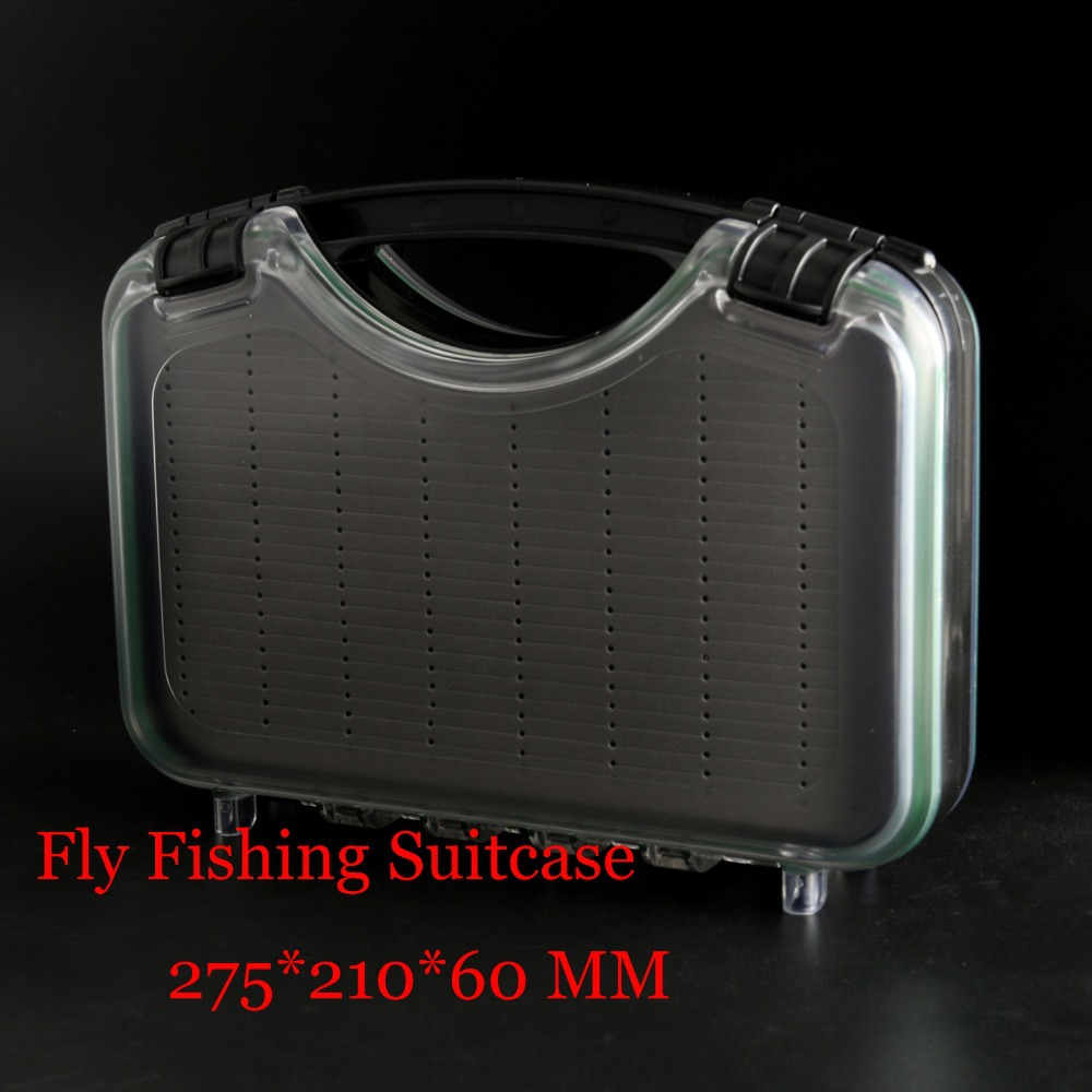 Maximumcatch Fly Fishing Suitcase With Handle Fly Fishing Box With Foam Waterproof Fly Box Fly Suitcase ведро хозяйственное idea цвет мраморный 3 л