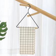 Скандинавском стиле, геометрический дизайн, вешалка для хранения полотенец из Букового железа, держатель для салфеток, подвесной органайзер для дома, аксессуары для кухни и ванной комнаты