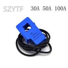 YHDC 10PCS SCT 013 000 30A 50A 100A retrátil SCT013000 do transformador de corrente