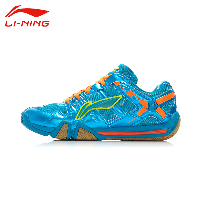 Li-Ning Men's Unisex Badminton Shoes Li Ning Breathable Hard-Wearing Flexible Outdoor Balanced Sports Sneakers AYAJ011 original li ning men professional basketball shoes
