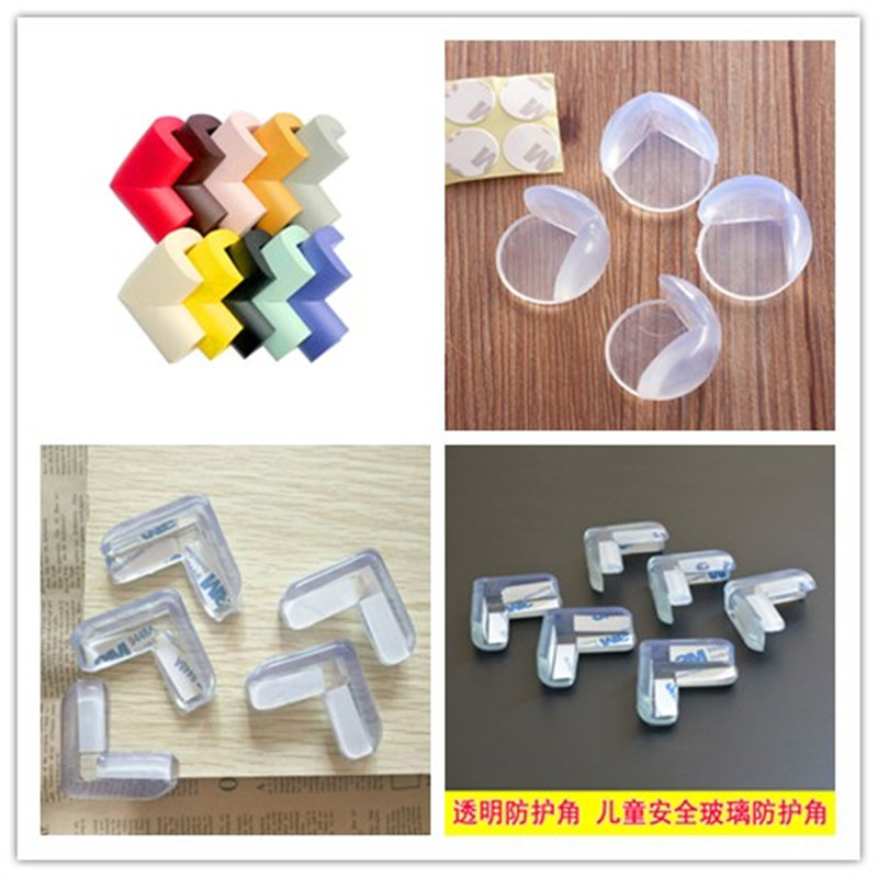 Child Baby Safety Silicone Protector Table Corner Edge Protection Cover Children Anticollision Edge & Corner Guards