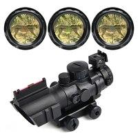 Carl Zeiss 4X32 Tactical Optical Riflescope Red Green Blue W Tri Illuminated Reticle Fiber Rifle Scope