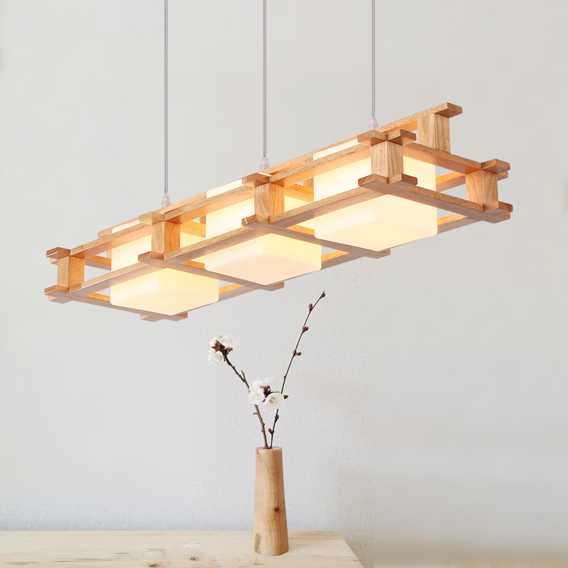 EuSolis E27/26 Madera Wood Pendant Lights Lamp Beleuchtungs Modern Led Avize Kitchen Lamp Luminaire Lampen Suspension Luminaire цена