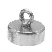 82x30 мм 400 кг неодимовый магнит восстановления металлоискатель мощный магнит Постоянные Магнитные материалы