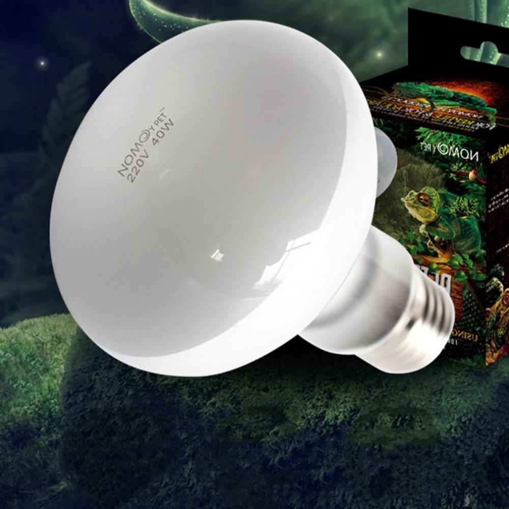 220V UVA+UVB Reptile Lamp Bulb Turtle Basking UV Light Bulbs Heating Lamp Amphibians Lizards Temperature Controller