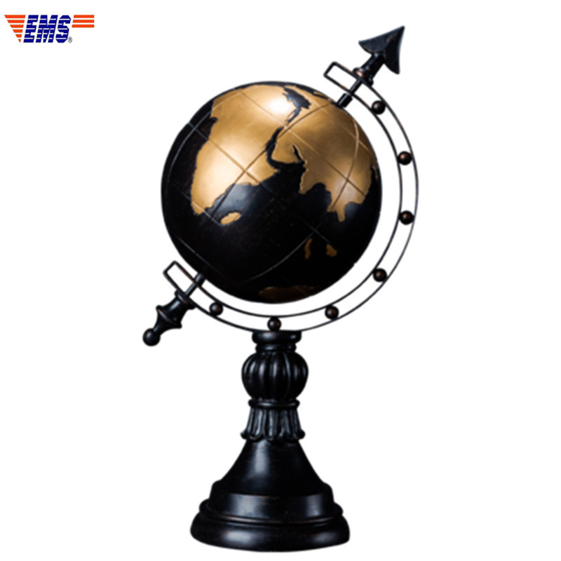 American Retro Resin Tellurion Statue Desktop Decoration Office Colophony Crafts Living Room Ornaments X827American Retro Resin Tellurion Statue Desktop Decoration Office Colophony Crafts Living Room Ornaments X827