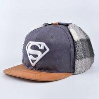 2016 New Fashion Superman Snap Back Snapback Caps Hat Super Man Adjustable Gorras Hip Hop Casual