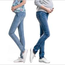 Elastic Waist Maternity Jeans Pants For Pregnancy Clothes For Pregnant Women Legging spring and autumn 2016 Maternity Plus Size