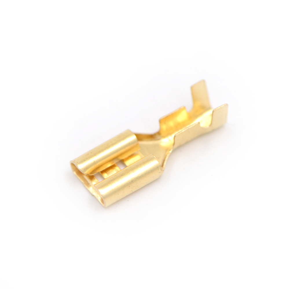 100pcs 48mm 63mm Gold Brass Car Speaker Electric Wire Connectors Auto Electrical And Crimp Terminal Buy Set Female Connector In Terminals From Home Improvement On