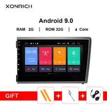 Xonrich Car Multimedia Player 2 Din Android 9.0 For VOLVO S60 V70 XC70 XC90 2000 2001 2002 2003 2004 AutoRadio GPS NavigationDVD цена