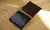 LANSPACE crup leather men wallets handmade purse famous brand coin purses holders