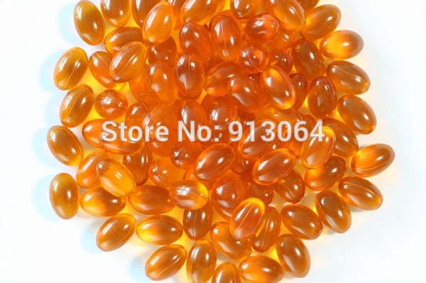 Export Quality 0.5g*100 Grain Sea Buckthorn Fruit Oil Soft Capsule Enhance Immunity And Clearing The Blood Waste