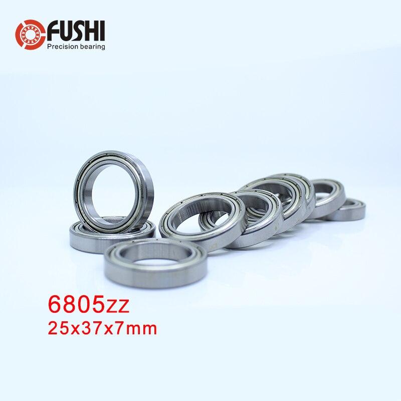 6805zz Bearing 25 37 7 Mm 10 Pcs Abec 1 Metric Slim