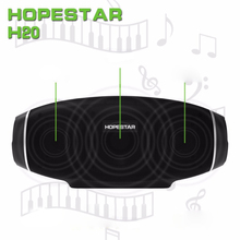 H20 Rugby Portable Bluetooth Speaker Wireless Mini Perfect Sound Bunyi Heavy Bass Stereo Pemain Bola Sepak Subwoofer untuk Smarthone