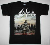 SODOM PERSECUTION MANIA GERMAN THRASH METAL KREATOR DEATHROW NEW BLACK T SHIRT Cheap Wholesale tees,100% Cotton Tee Shirt