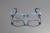 Deding qualidade crianças TR90 Optical meninos meninas Multi Color Light Weight TR90 retangular óculos de armação óculos de olho estudante DD1045