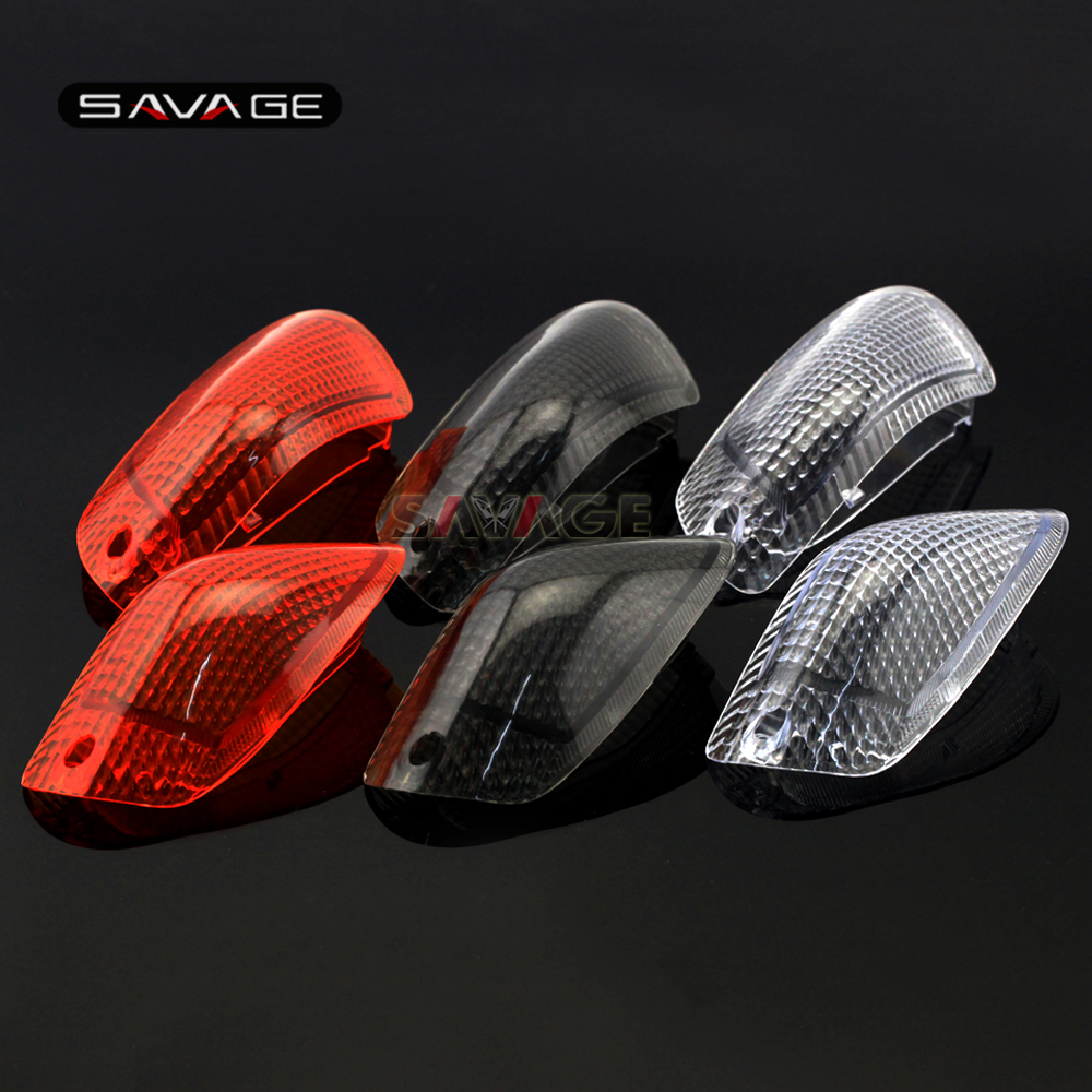 For KAWASAKI ZZ-R 1100D / ZX-11 1993-2001, ZZR1200 2002-2005 Motorcycle Accessories Front Turn Signal Light Lamp Lens Cover