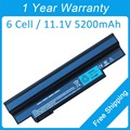 New 6 cell laptop battery for acer Aspire One 253h 532G 532h UM09G41 UM09G51 UM09G71 UM09G75 UM09H51 UM09H71 UM09H31 UM09H36