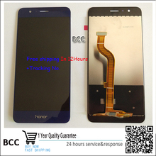 Original quality!Gold,white,black,blue For huawei honor 8 Original Touch Screen Digitizer +LCD display Test ok+Tracking number!