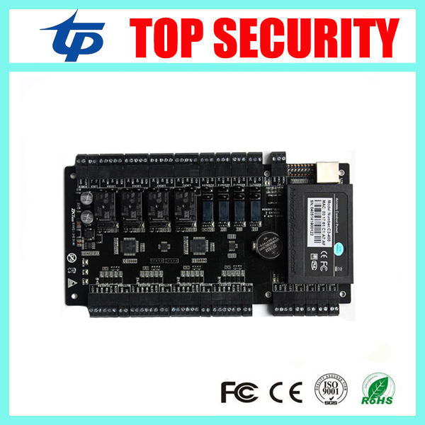 Hot sale TCP/IP Network Intelligent four doors Acess control Panel 30000 card capacity with weigand in C3-400 access control hot sale 501 6719 x4150a 1000m network card 501 6719 04 hba