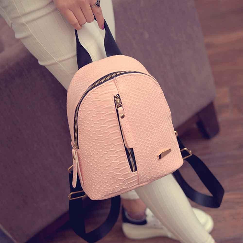 New207 Cute Korean Small New Women Bag Packs Quality PU Leather Fashion Bags Mini Backpack womens backpacks Back Pack