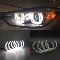 E90 Sedan Crystal LED Angel Eyes For BMW E90 Sedan SMD LED Headlight Halo Rings E90