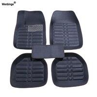 Wenbinge Universal car floor mat For audi a3 sportback audi a5 sportback a4 b8 avant tt car accessories waterproof car carpet