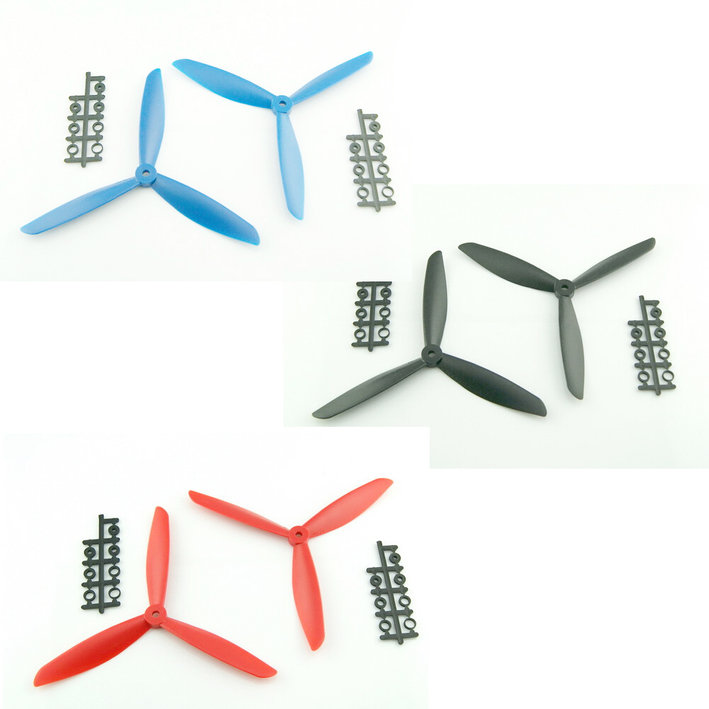 4pcs/lot Clover 5045 6045 7045 8045 CW/CCW Propeller for multicopter quadcopter FPV (2 pair) купить