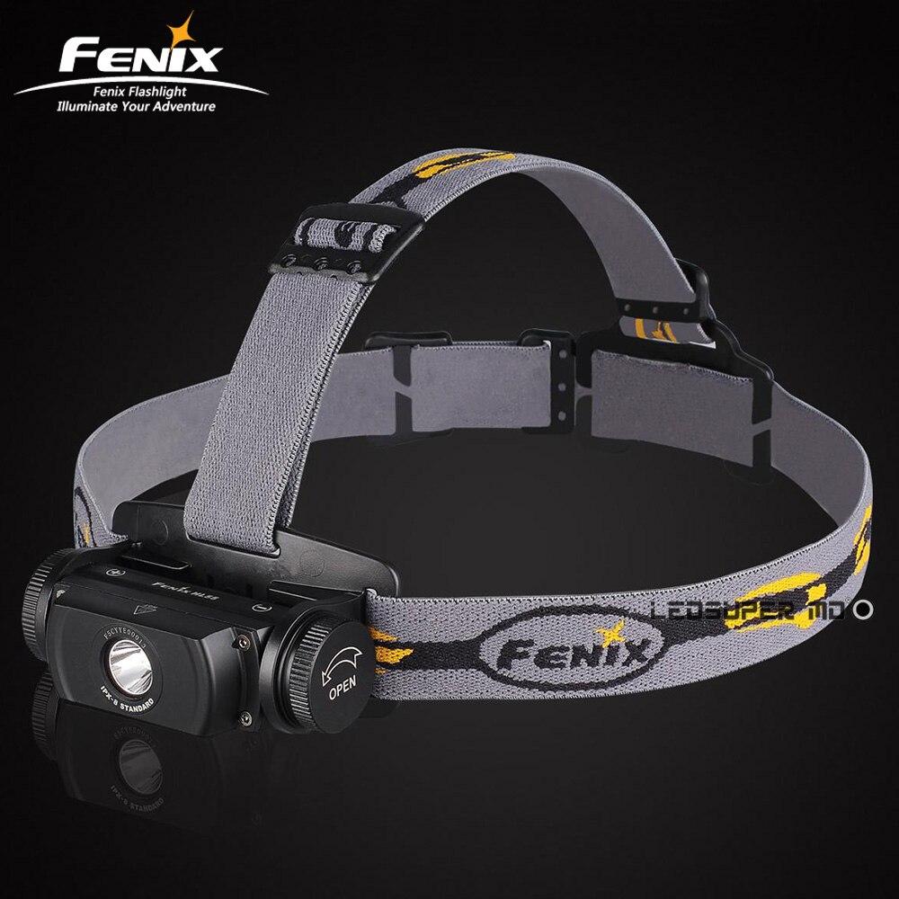 Livraison Gratuite FENIX HL55 900 Lumens Étanche Lanterne CREE XML T6 LED Rechargeable Phare 18650