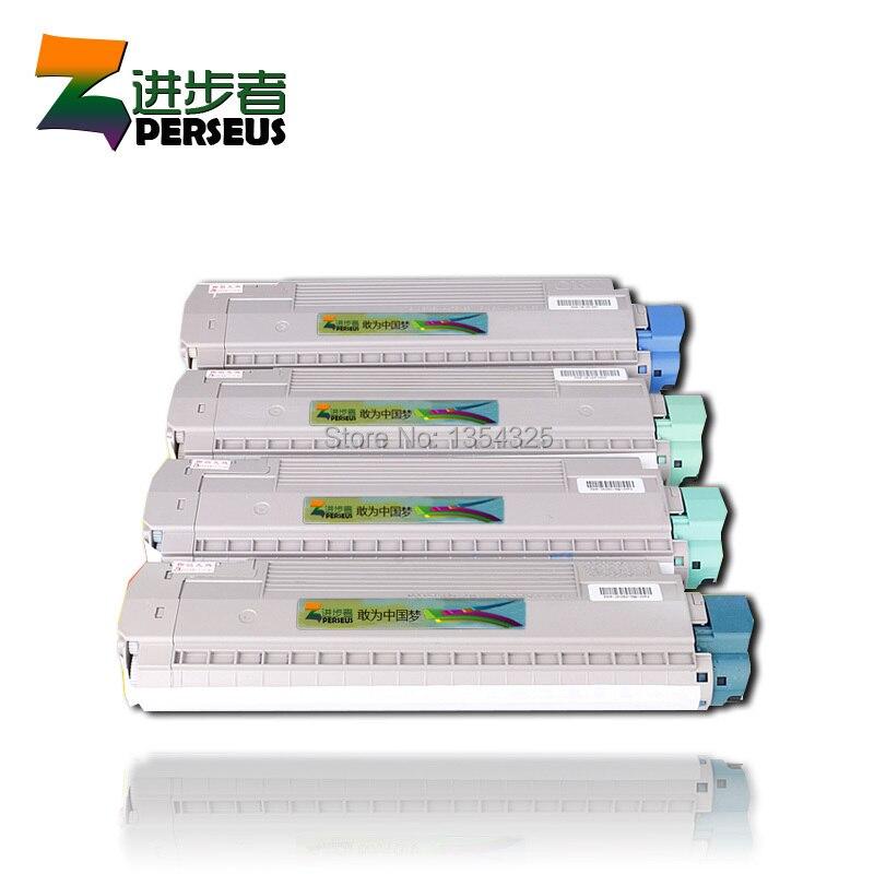 4 Pack HIGH QUALITY TONER CARTRIDGE OKI C830 C810 COLOR FULL COMPATIBLE 44059108 44059107 44059106 44059105 compatible toner reset chip for oki c810 c830 laser smart cartridge pinter chip 810 830