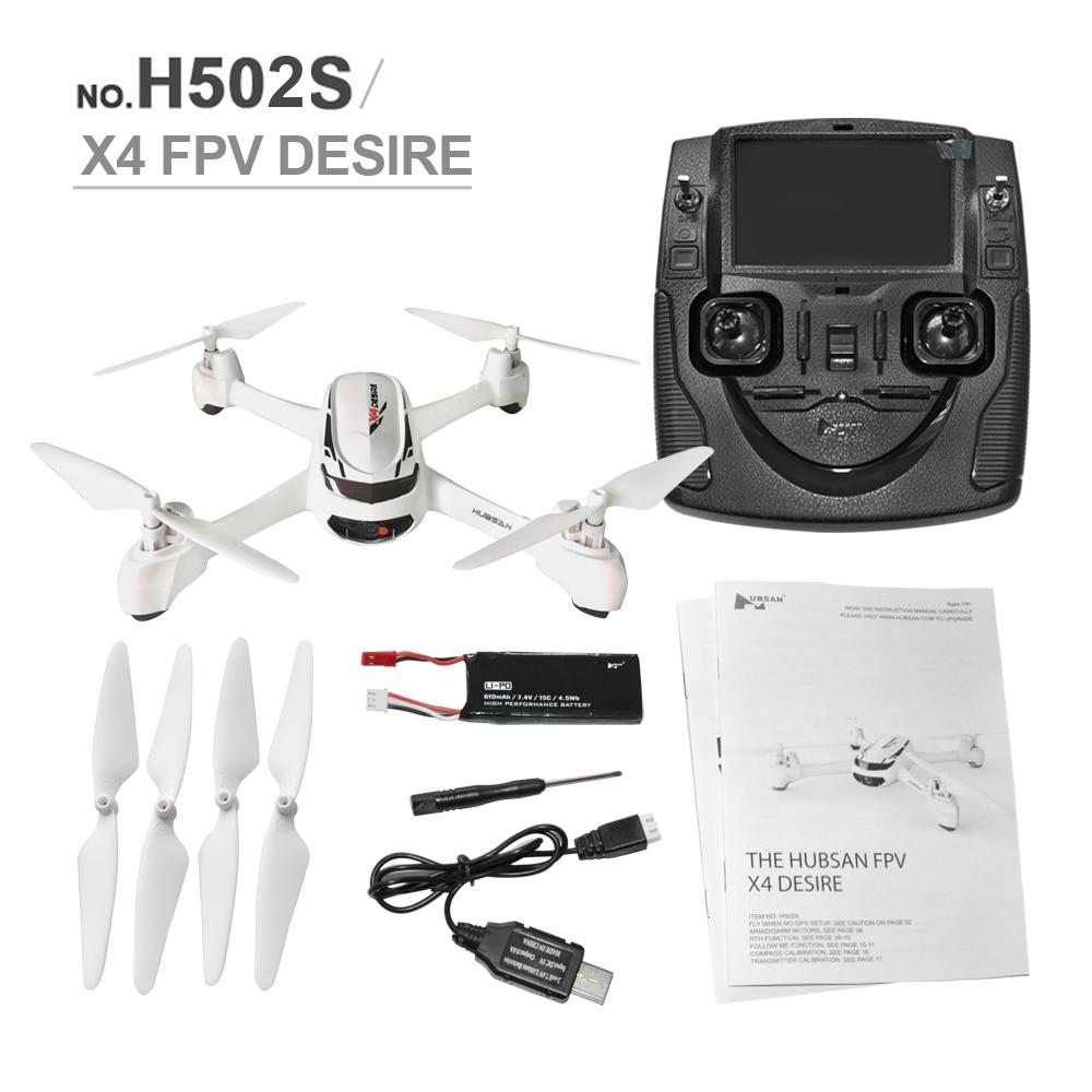 RC Drone H502S X4 5.8G FPV Avec 720 P HD Caméra GPS Altitude Un Retour Key Sans Tête Mode RC Quadcopter Auto positionnement