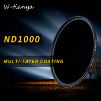 Wtianya Multi coating mc nd1000 95mm for Carl Zeiss T2.8/15 10.Stop nd3.0 filter glass Neutral Density filter low color shift