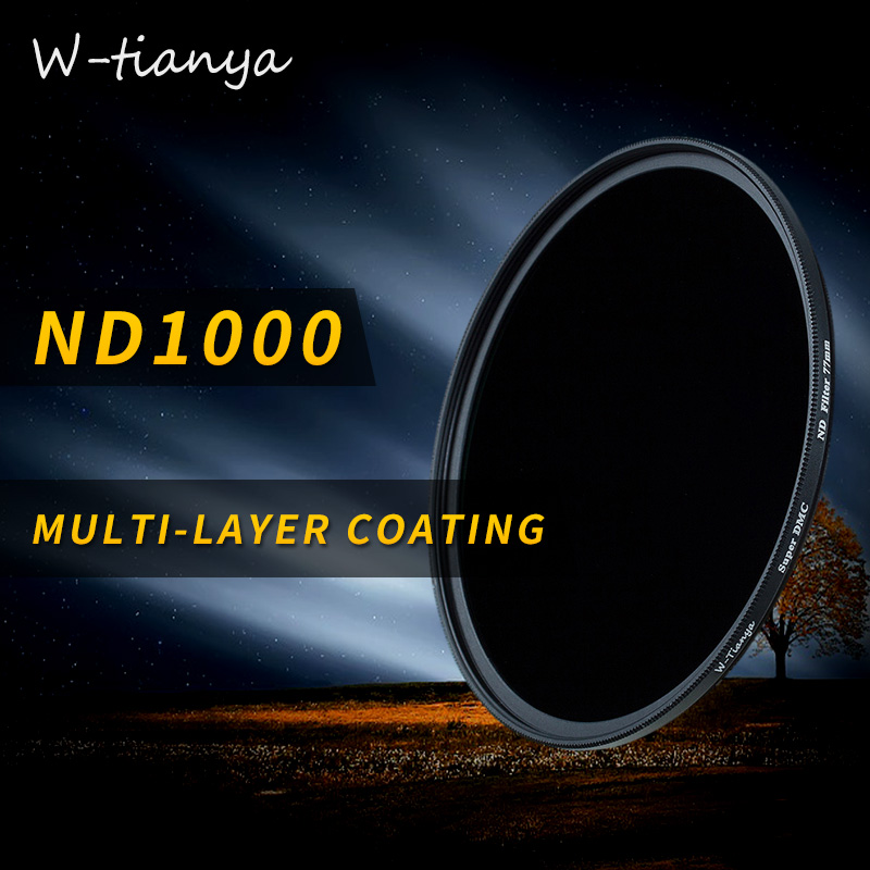 Wtianya Multi-revêtement mc-nd1000 95mm pour Carl Zeiss T2.8/15 10. Arrêter nd3.0 filtre en verre Neutre densité filtre faible changement de couleur